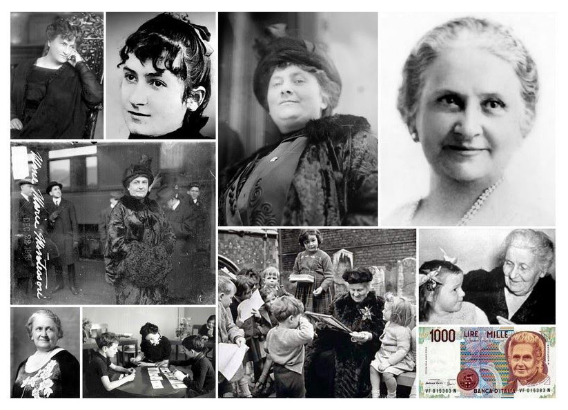 MAria Montessori Montage - International Montessori School of Fort Lauderdale